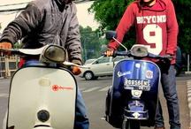 Vespa indonesia / Yg penting vespa
