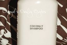 home made shampoo