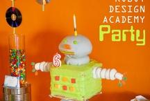 Cafe Neu Romance: DIY Cafe Robots Interior