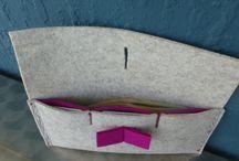 bolsas de feltro