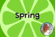 Spring Materials & Ideas / Spring Materials & Ideas! Board compiled by Danielle Reed, M.S., CCC-SLP