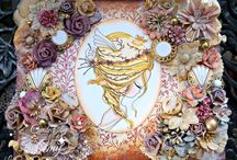 Altered Art / Altered Art. Craft creations with images by Julia Spiri