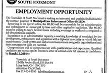 Jobs - Emploi / Employment opportunities in the area!  Des possibilités d'emploi dans la région!
