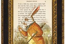 "❤ Alice ❤ / ""It was much pleasanter at home,"" thought poor Alice, ""when one wasn't always growing larger and smaller, and being ordered about by mice and rabbits. I almost wish I hadn't gone down the rabbit-hole--and yet--and yet--..."""