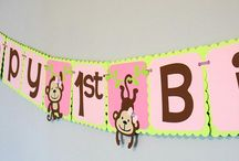Boy Monkey Birthday Party Theme Ideas & Decor
