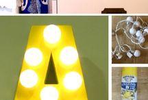 DIY Projetos / DIY Decoration and Arumation