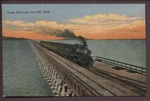 The Lucin Cutoff, the story of the trestle. / Images of the trestle that started it all for us.