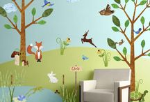 wall decals - children
