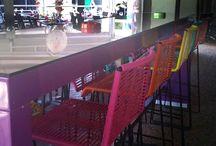 BOQA dans l'univers CHR / Les cafés hotels restaurant aux couleurs féériques et aux ambiances diverses habillés avec le mobilier BOQA
