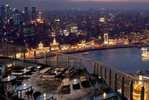Rooftop bars / The best bars around the world for views