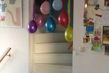 Versiering verjaardagen meisjes