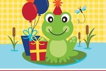 Frog Party Ideas and Frog Party Supplies / Ribbit! Hop on in to our Frog theme party board! We have some great Frog Birthday Party ideas from our own collection, as well as some hopping hot Frog Party ideas from other Pinterest members. Hop to it and plan your Frog party today!