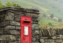 Post Boxes ✉️ / Is it a love letter ... A bill .... An invitation? Something unexpected which can make you very happy or very sad .......