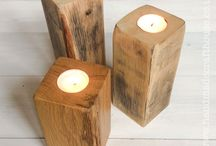 Rustic Living / Handmade items made using local, natural materials to bring that cosy, rustic look to your home.