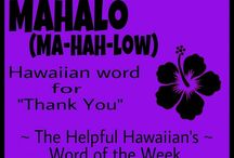 Hawaiian / Hawaiian Language Learning