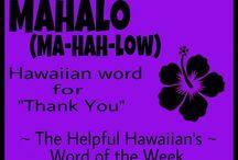 Hawaiian / Hawaiian Language Learning