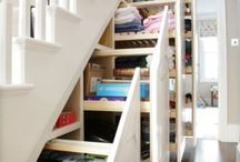 Clever Storage Ideas / Storage ideas, clever storage, modern storage, storage inspiration, inventive storage, designing storage, easy to use storage.