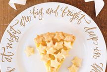 Wedding Pies / Let the others eat cake at their weddings.  Share your love of pie with guests at your wedding for a personal, flavorful option. / by Mary Deatrick