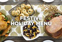 Festive Holiday Menu
