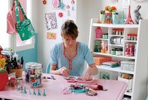 Craft Rooms / by CreativeIncomeBlog