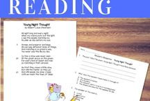 3rd Grade Reading Ideas / Third grade reading involves comprehension, vocabulary, and inferencing in all different genres. There are ideas here for whole group, small group, stations, and assessment.