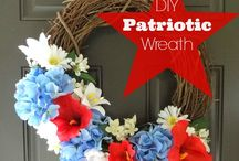 Patriotic Decor and Crafts