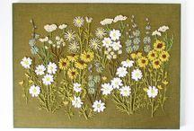 Stickerei • Bordado • Embroidery