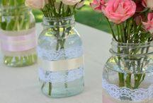 flowers/DIY vases