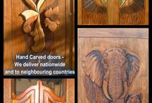 Africarve / Manufacturing of the most stunningly designed wooden doors, murals, signs, church pews, tables.