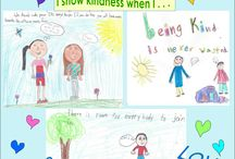 KINDNESS Kids Project / Kindness - thoughts and actions by kids ages 5 - 17.  The Kindness Kids Compilation Book release - Spring 2018. Proceeds to benefit a local school Weekend BackPack program.