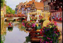 Colmar, Franța / Colmar, este al treilea oraș ca mărime din regiunea viticolă, după Strasbourg și Mulhouse.