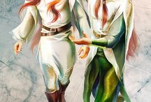 Amrod and Amras - Silmarillion