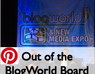 Non-Bored, Out of this BlogWorld Board / Check out the non boring sights from Blogworld 2012!