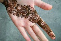 Bridal mehendi designs hands