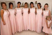 Bridesmaid colours/dresses