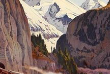 Travel posters / Travel posters from around the world, but not NZ