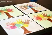 handprint crafts / by Jamie Paquin