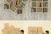 Desain furniture : Shelves