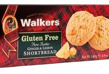 Gluten Free Walkers Shortbread / Walkers now offers its first-ever Gluten Free Shortbread, providing an authentic shortbread for those who are gluten intolerant, or choose a gluten-free diet. The new line evolved from years of development to produce a pure buttery taste that founder Joseph Walker would have proudly served at his Scottish Highland village bakery. Close your eyes, bite in and see if you can tell the difference.