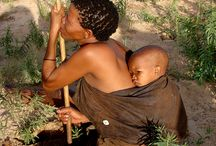 África. Bushman