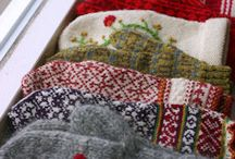 Q. Quilt, sew, knit, alter... inspired / Yarn fabric and thread related  / by Jennifer Lippmann