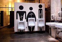 vibes: bathroom graphics