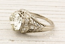 Engagement Rings / Detailed, delicate engagement rings