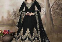 2641 Aanaya 22000 Embroidered Tafeta silk salwar kameez