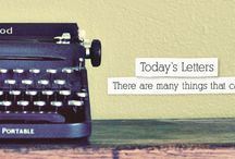 Bloggers to keep up with / by Joy Lohse