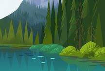 +Illustrations - Landscape