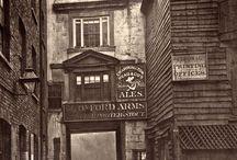 Dark Alleyways, Mysterious Stairs, Victorian Life