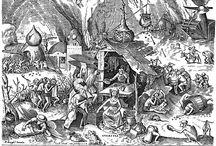 Brueghel Sins and virtues