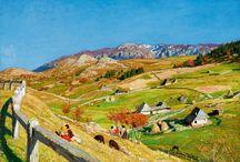 Landscape Paintings I KIESELBACH / A 19. és 20. századi Magyar tájkép festészet kiemelkedő darabajai.  Selection of the finest Hungarian landscape paintings from the 19th and 20th century