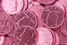 Fondos rosados